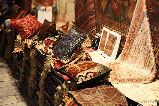 Има изобилие от килими с множество международни награди.